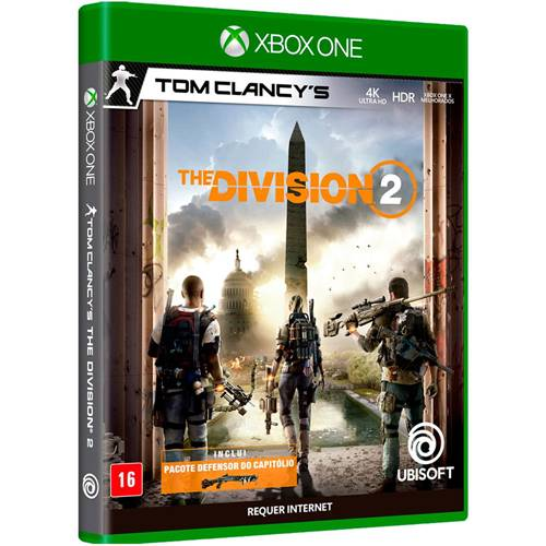 Jogo Tom Clancys The Division 2 Xbox One