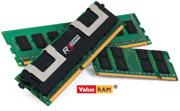 Memórias Kingston Value Ram