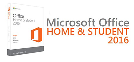 Título do Office Home And Student 2016